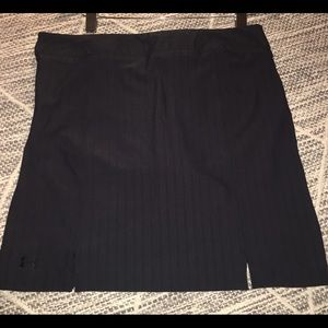 3 for $20 UA PERFORMANCE BLACK ATHLETIC SKORT